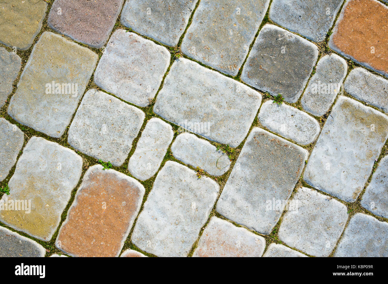 Colorful Concrete Paving Texture Background Stock Photos ...