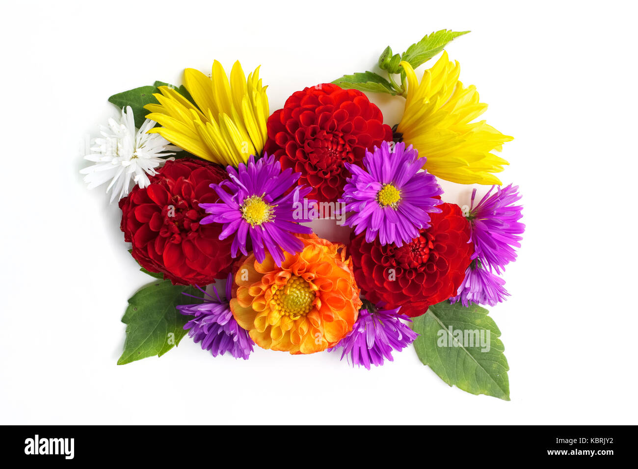 Bouquet of flowers top view isolated on white background for Biggest bouquet of flowers
