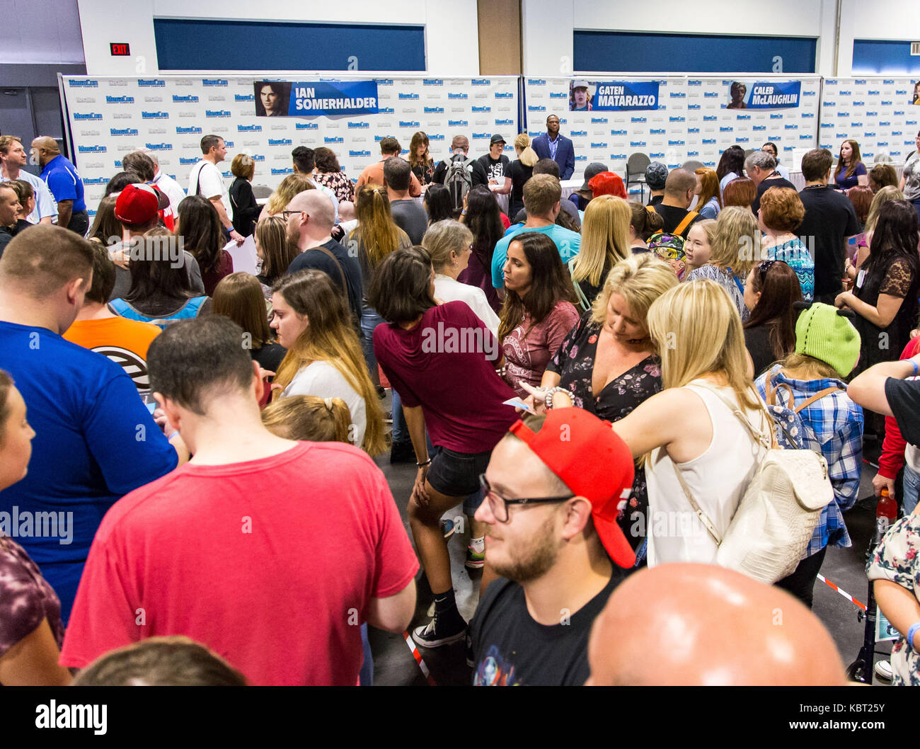 Tampa florida usa 30th sep 2017 fans waiting to meet ian stock 30th sep 2017 fans waiting to meet ian somerhalder at megacon being held at the tampa convention center in tampa florida del mecumcsmalamy live news m4hsunfo