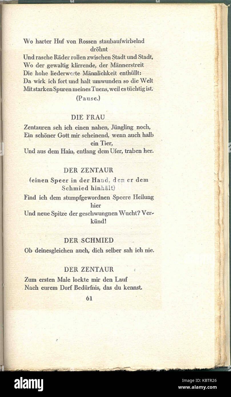 ein brief hugo von hofmannsthal