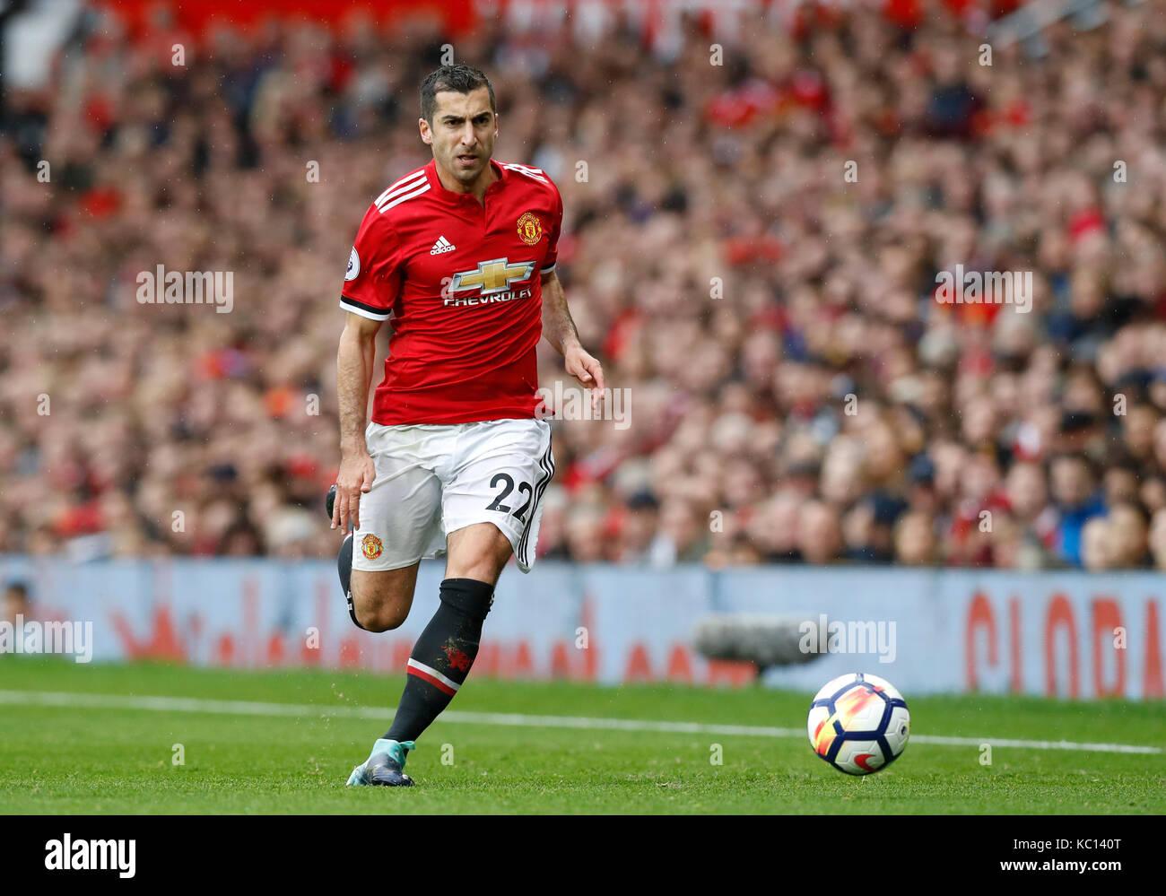 Manchester Uniteds Henrikh Mkhitaryan Stock s & Manchester