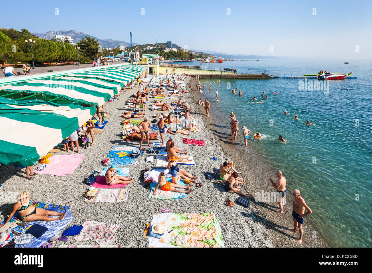 Southern coast of Crimea, Alushta. Beaches, vacation by the sea. Guest reviews. Alushta: Hotels with a private beach 1