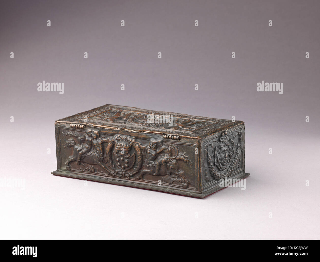 Writing Box, ca. 1900, Italian (Manifattura di Signa, Florence ...