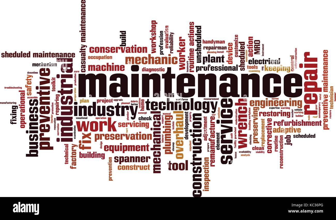 is maintenancing a word