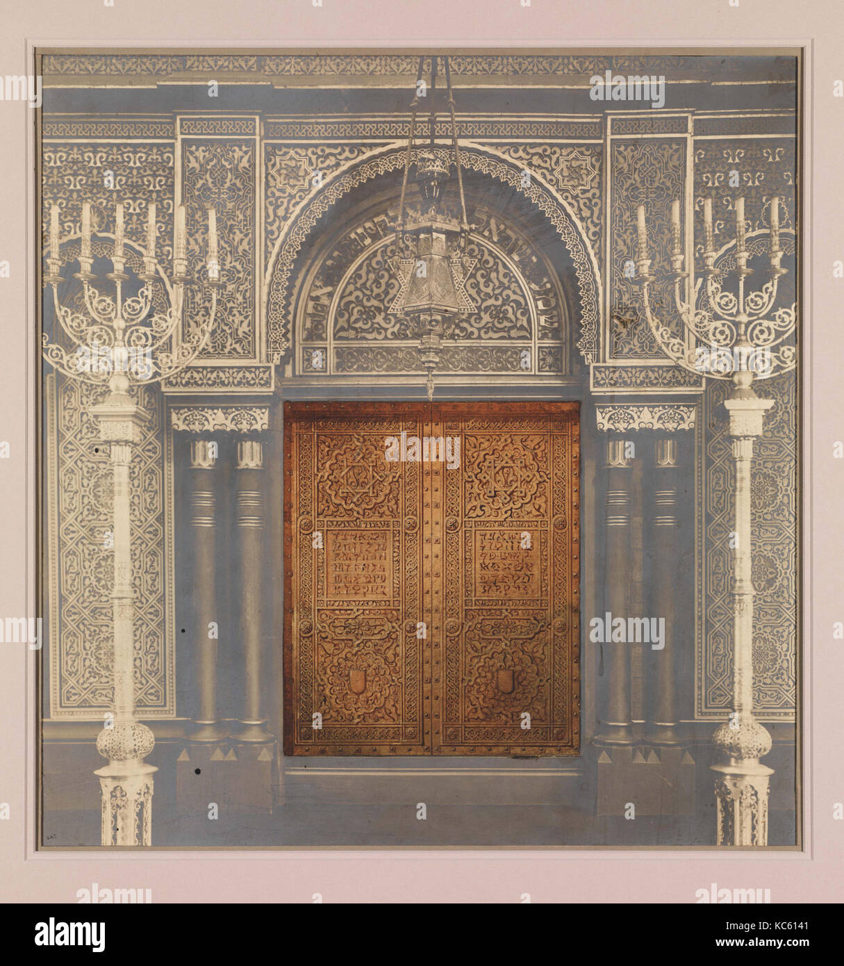 Design for Ark Doors Temple Emanu-El New York Tiffany Studios 1910 & Design for Ark Doors Temple Emanu-El New York Tiffany Studios ...