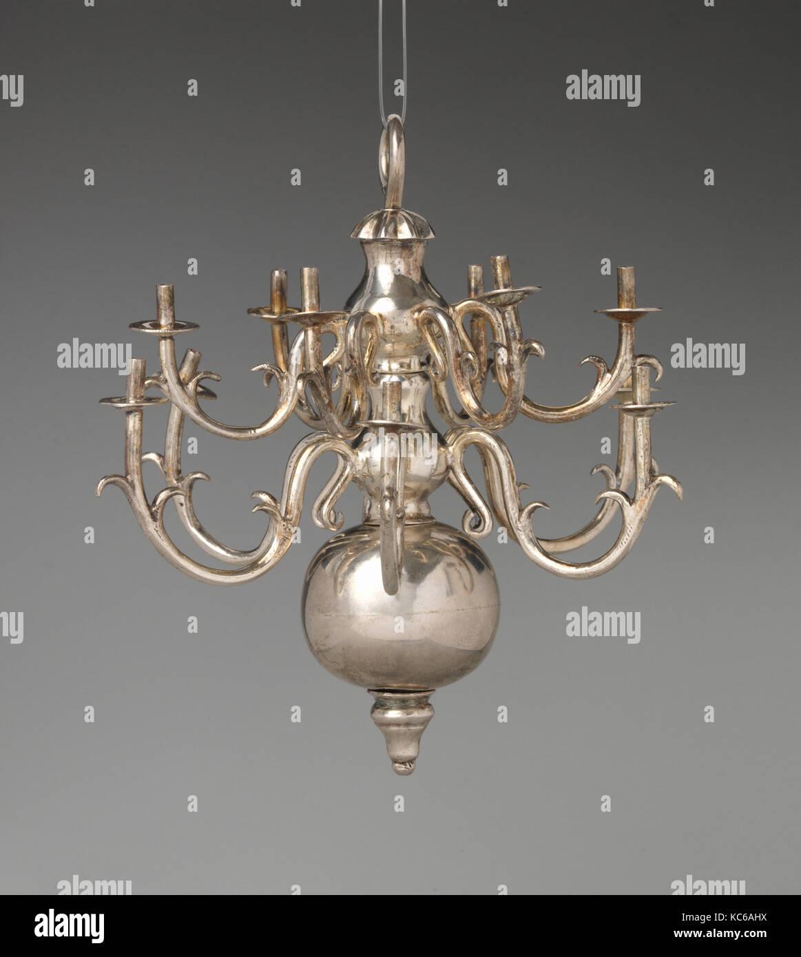 Miniature chandelier stock photos miniature chandelier stock miniature chandelier ca 1720 dutch amsterdam silver 4 5 arubaitofo Image collections