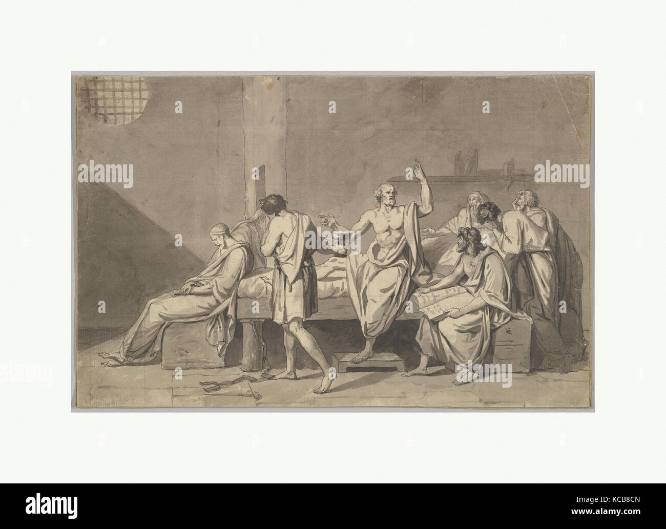 The death of socrates by jacques-louis david essay