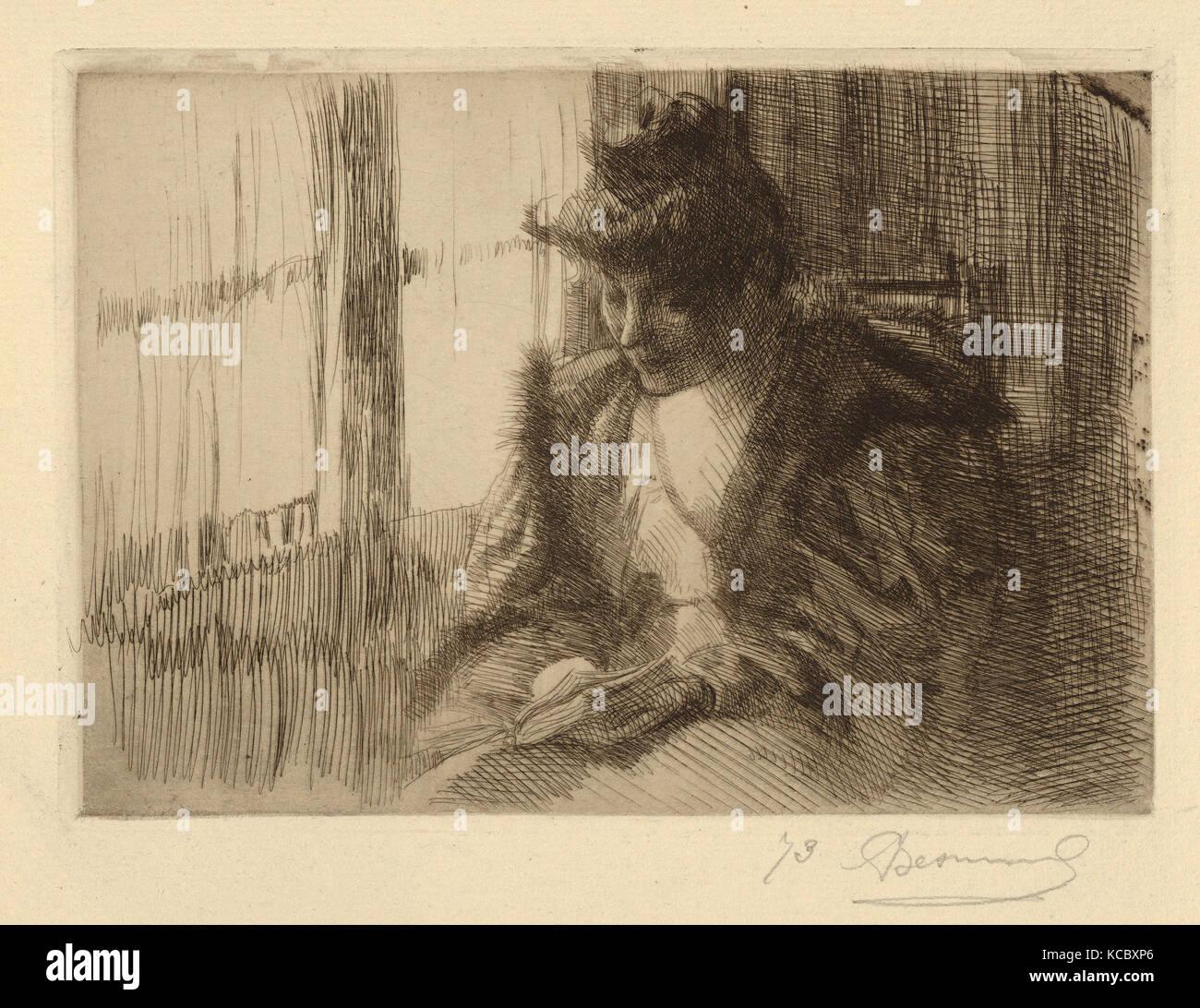 Liseuse stock photos liseuse stock images alamy for Devant la fenetre