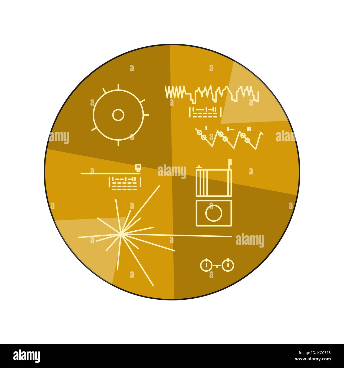 Golden Record Stock Photos Amp Golden Record Stock Images