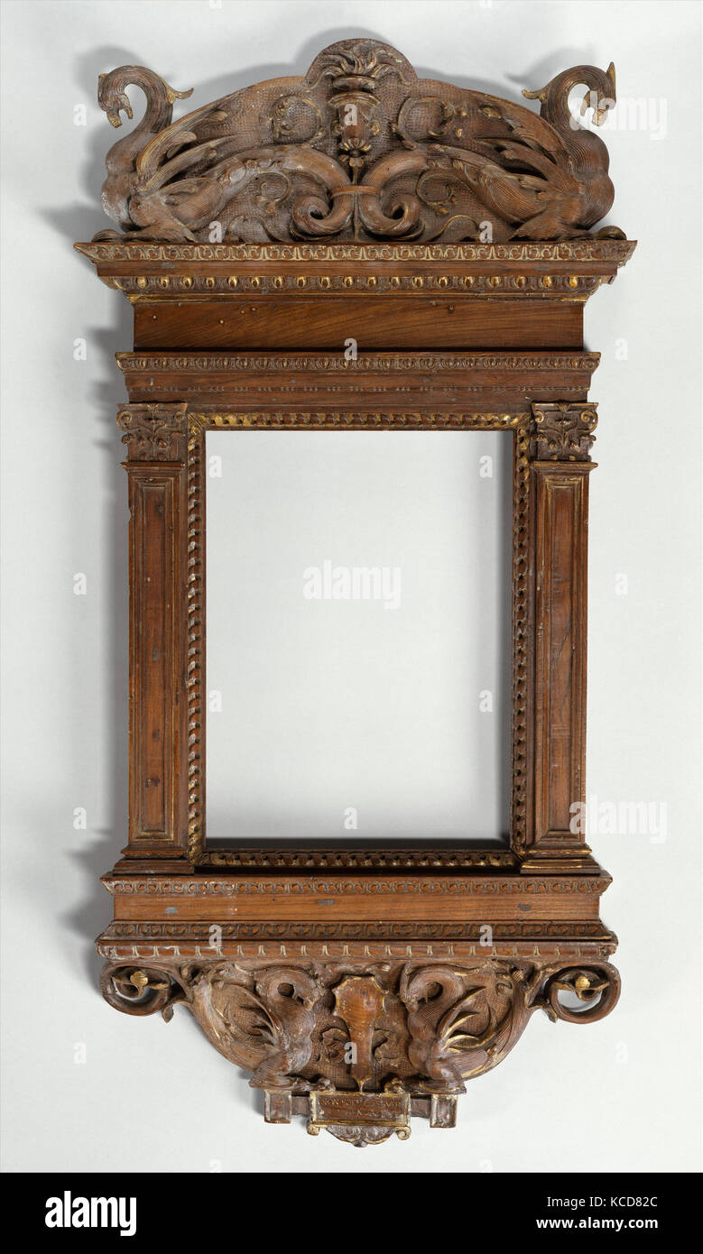 Tabernacle frame, possibly del Tasso workshop, ca. 1530 Stock Photo ...
