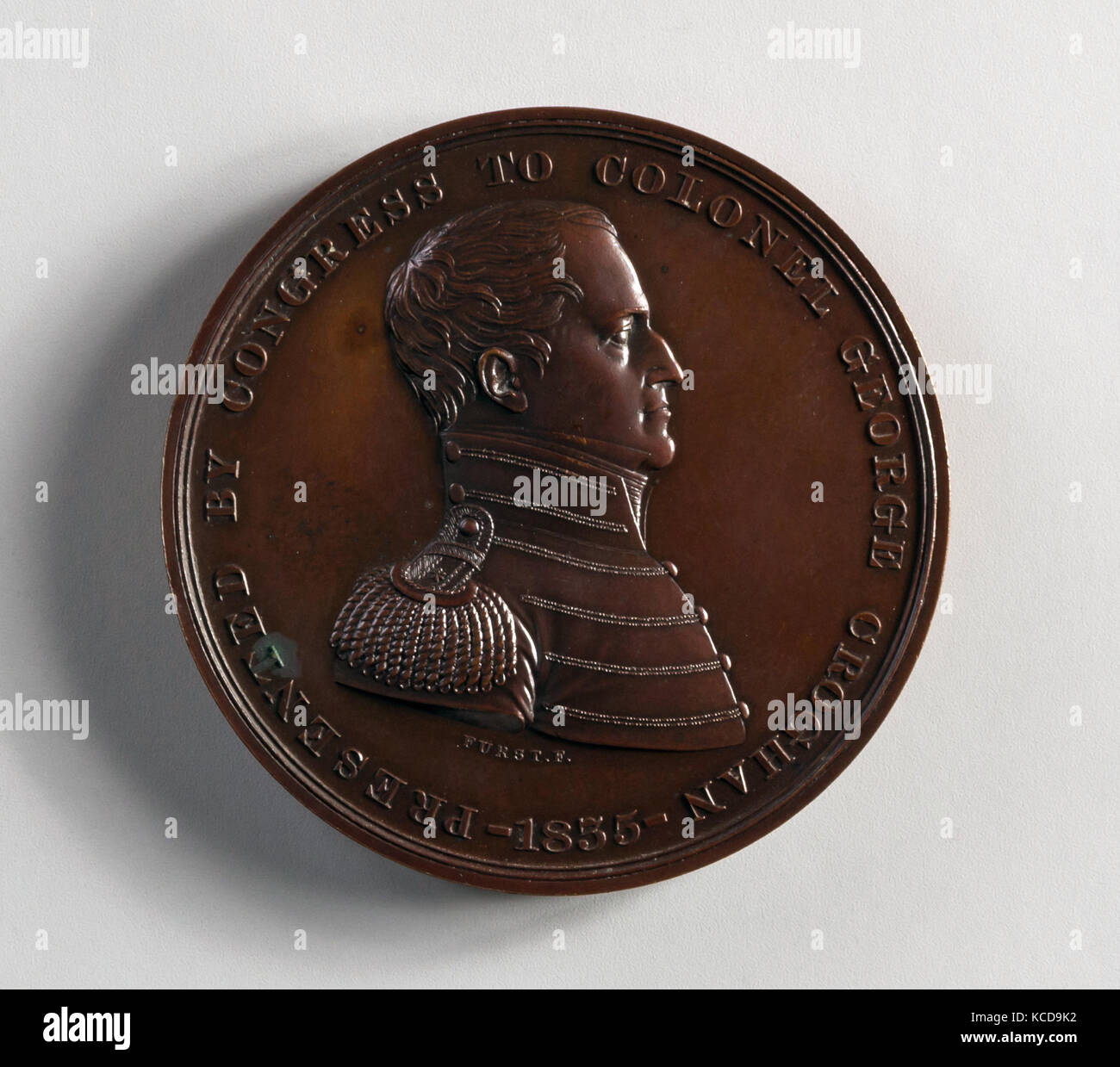 Medal of Colonel George Croghan, Moritz Fürst, 1800–1830