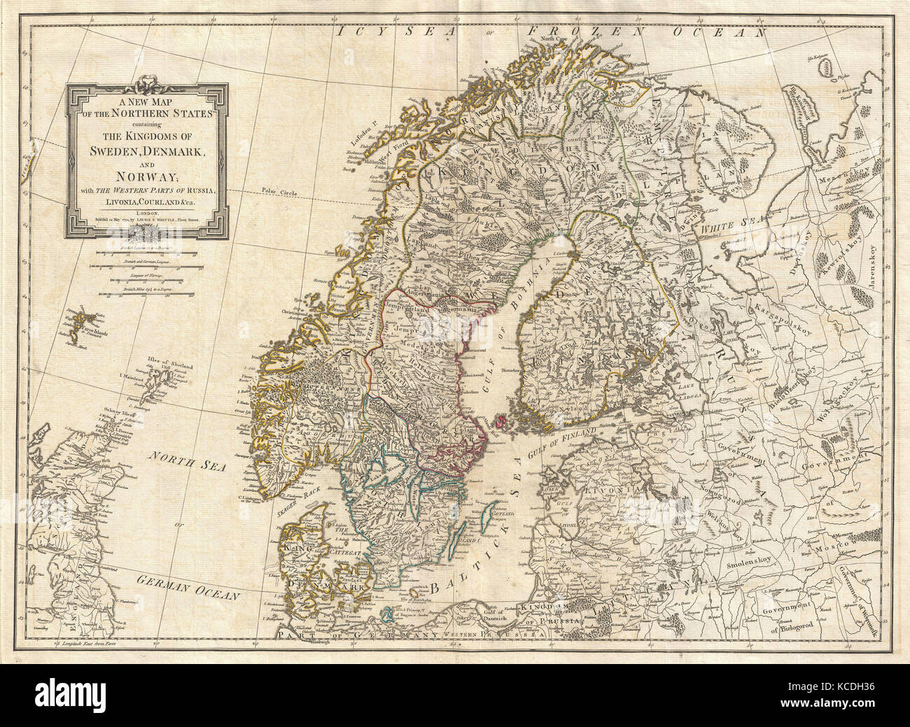 Map Norway Finland Sweden Denmark Stock Photos Map Norway - Sweden new map