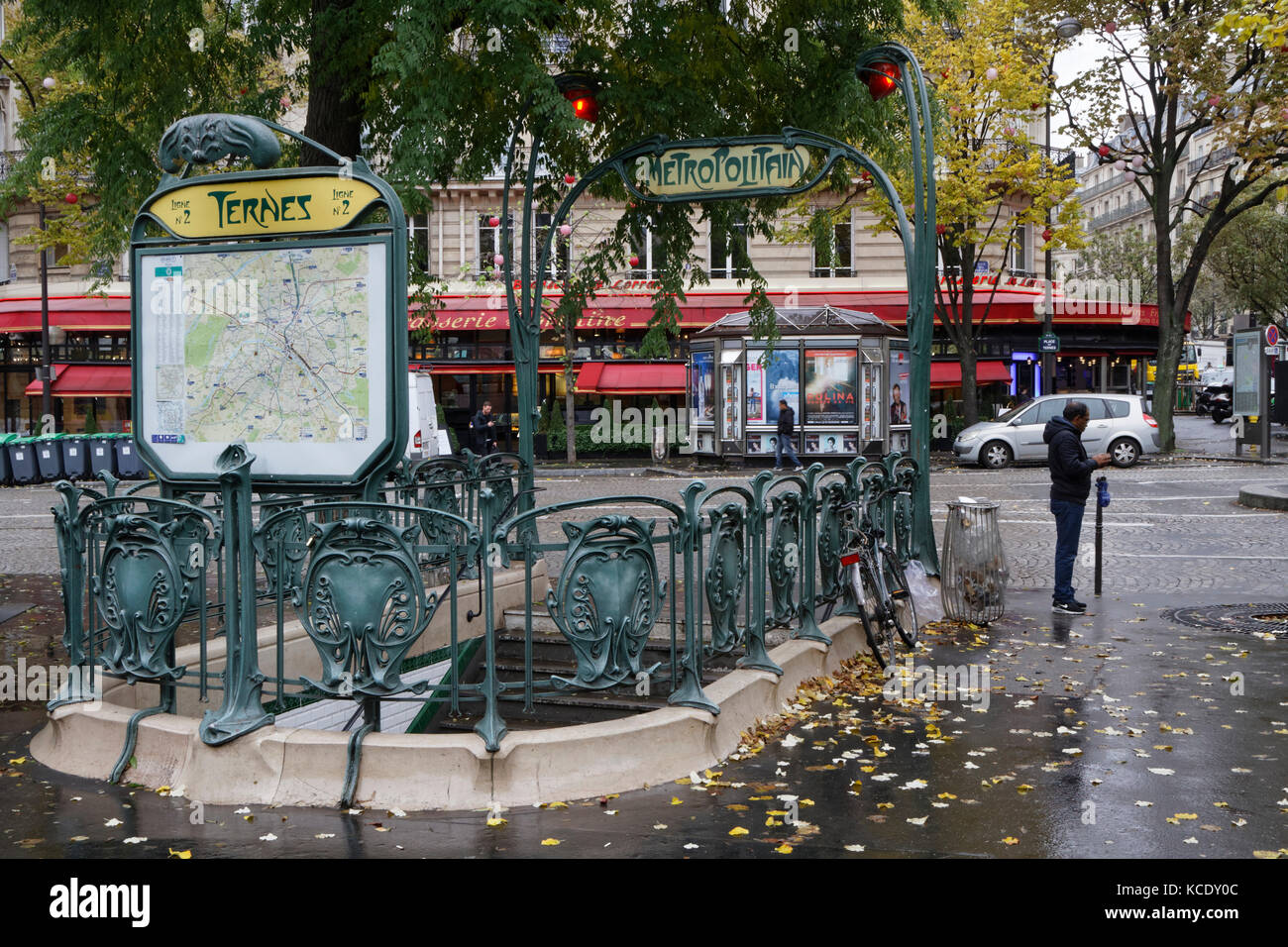 PARIS, FRANCE, November 15, 2016 : Underground station in Place ...