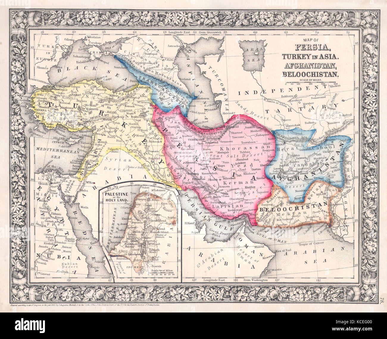 1864 mitchell map of persia turkey and afghanistan iran iraq 1864 mitchell map of persia turkey and afghanistan iran iraq gumiabroncs Gallery