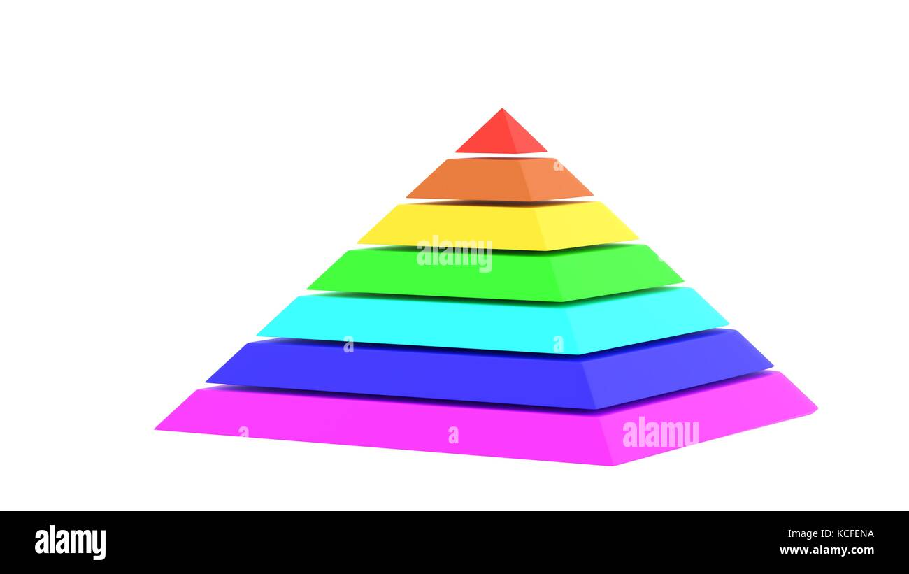 Color chart rainbow - Pyramid Stage Illustration Stock Photos Pyramid Stage Pyramid Square Chart Rainbow Color 3d Illustration Kcfena Pyramid