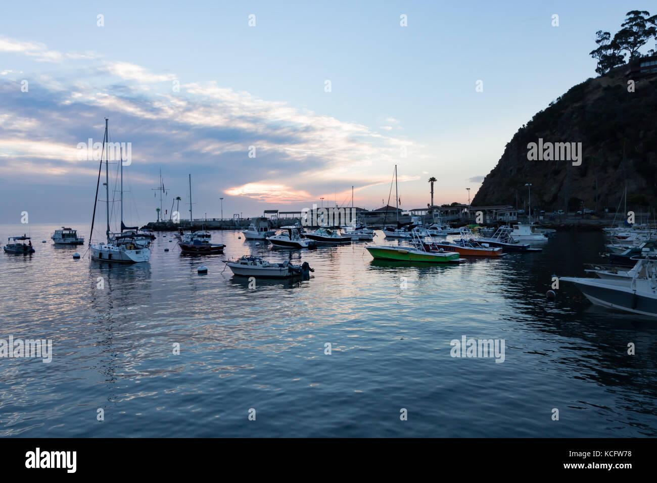 Catalina bay stock photos catalina bay stock images alamy for Catalina bay
