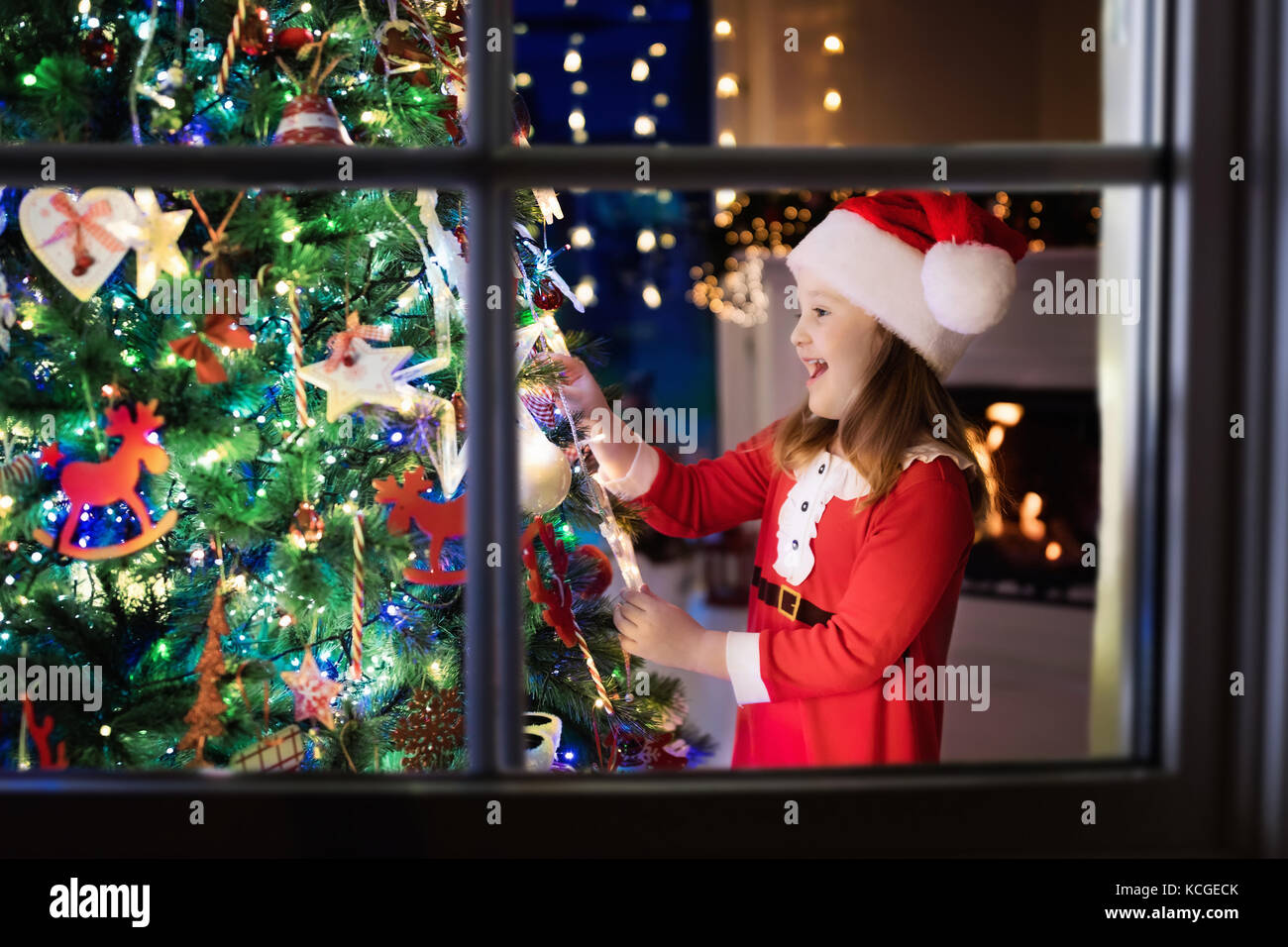 family on christmas eve fireplace stock photos u0026 family on