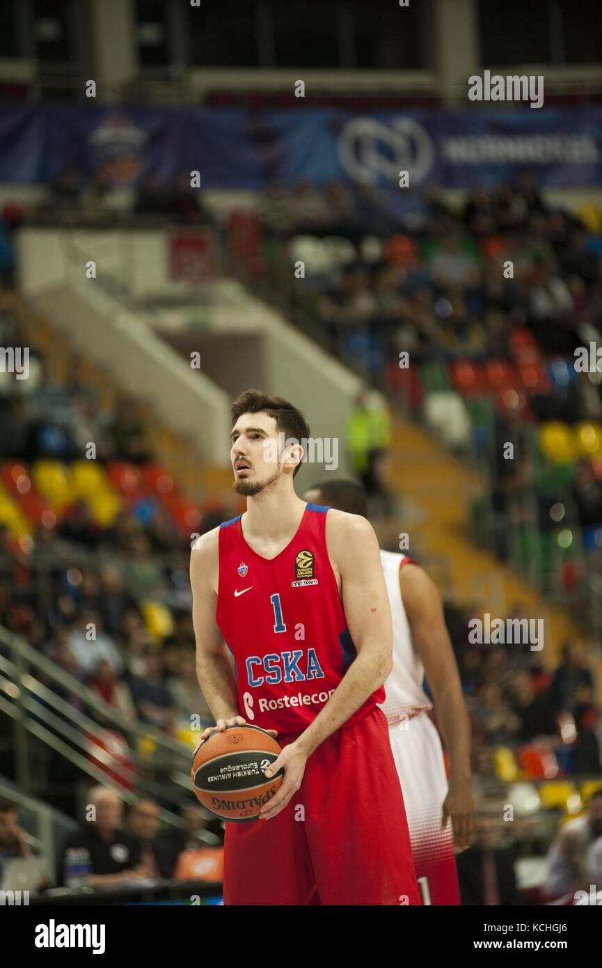 Nando de Colo (SCKA) shoot the free throw in the basket ea7milan ...