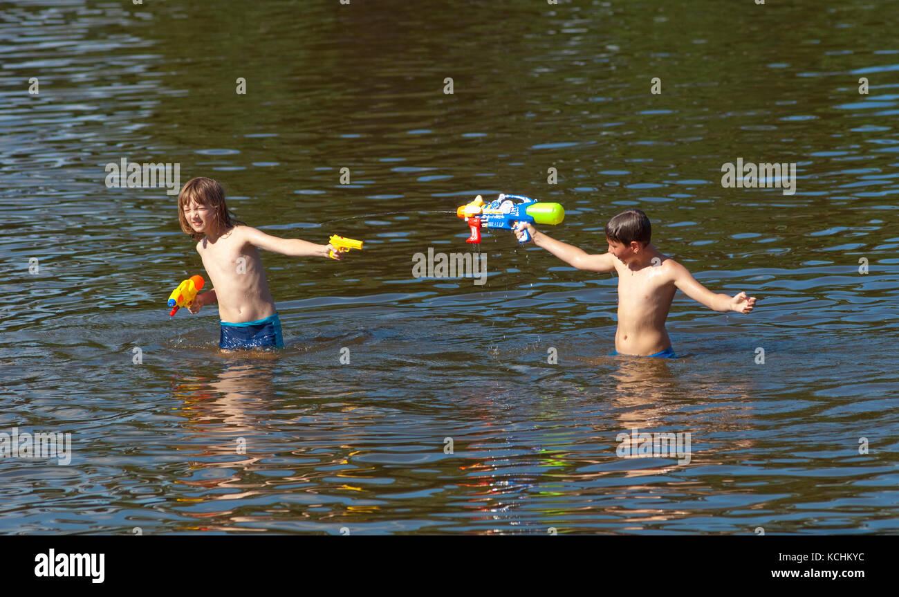 Lake Toys For Boys : Boys toy guns stock photos images