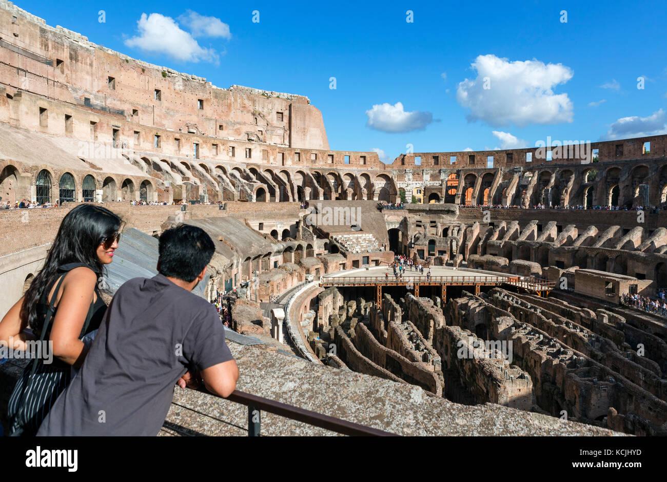 Colosseum rome interior of the roman colosseum coliseum rome colosseum rome interior of the roman colosseum coliseum rome italy publicscrutiny Images