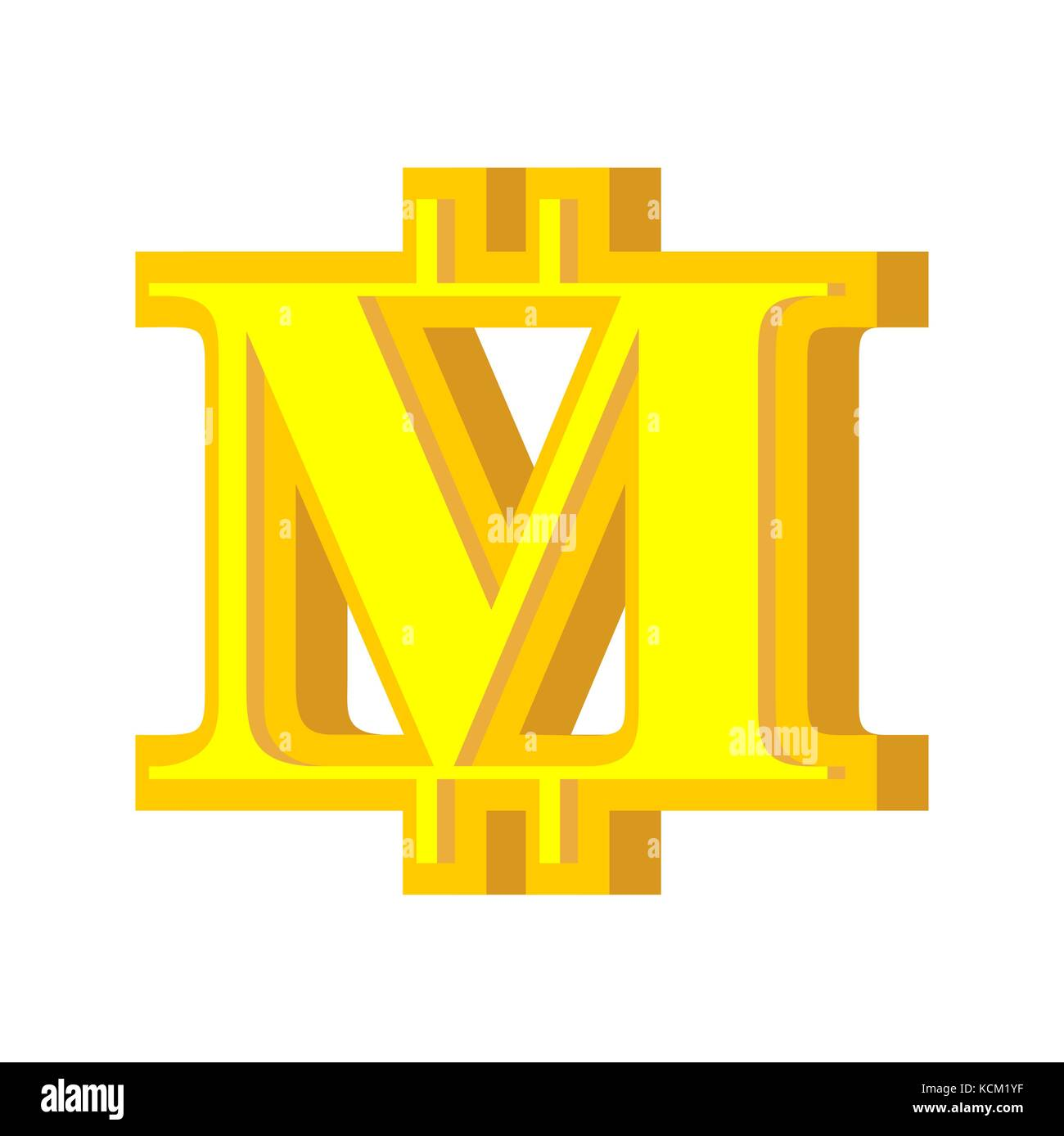 M Letter Bitcoin Font Cryptocurrency Alphabet Lettering Virtual