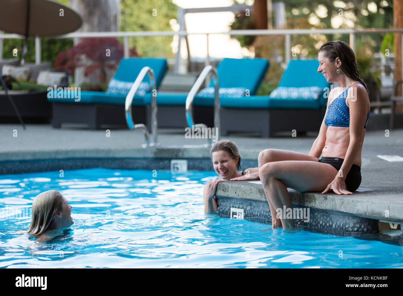 Spa Friends Stock Photos Spa Friends Stock Images Alamy