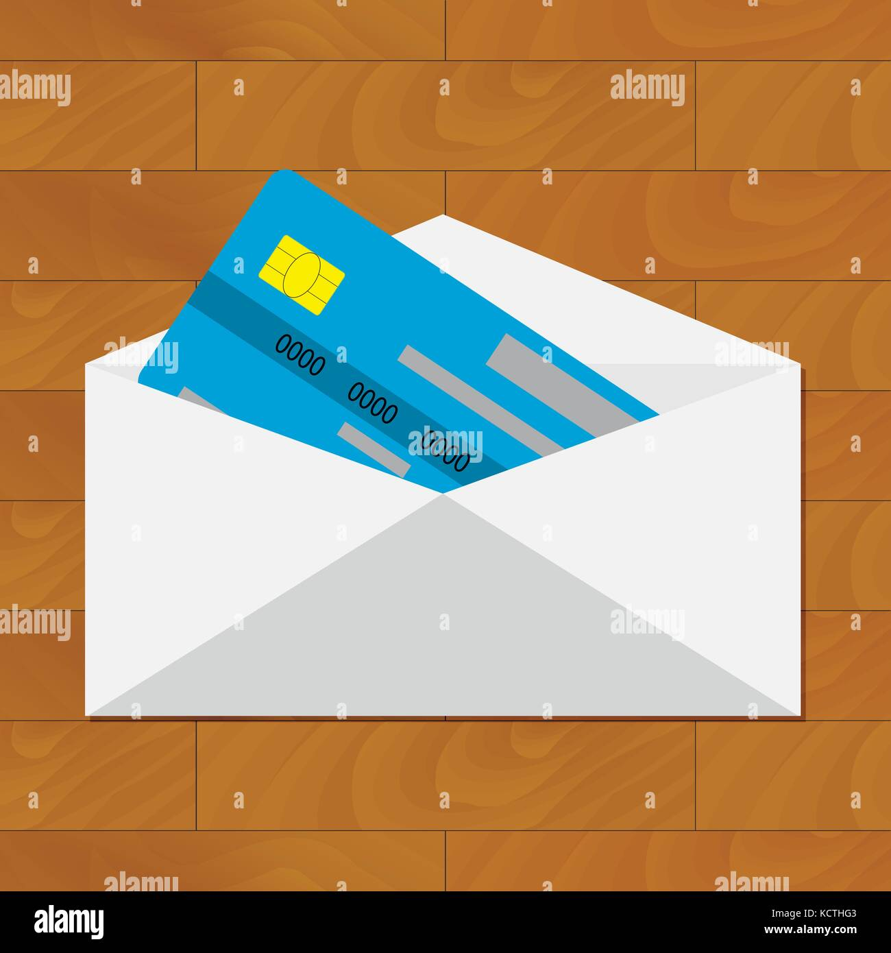 open credit card get card in envelope credit card in envelope