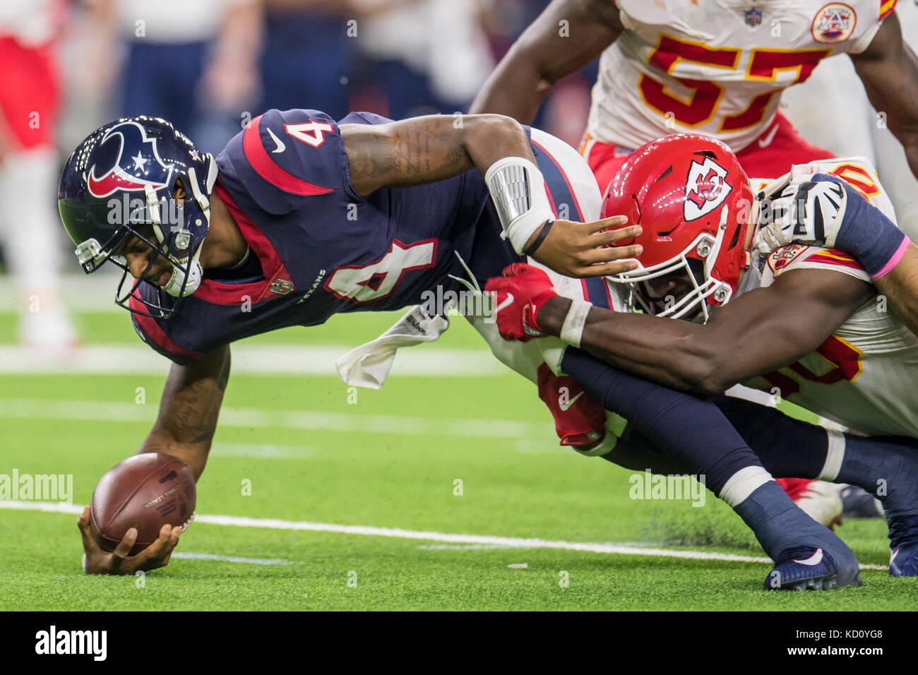 Houston TX USA 8th Oct 2017 Houston Texans quarterback