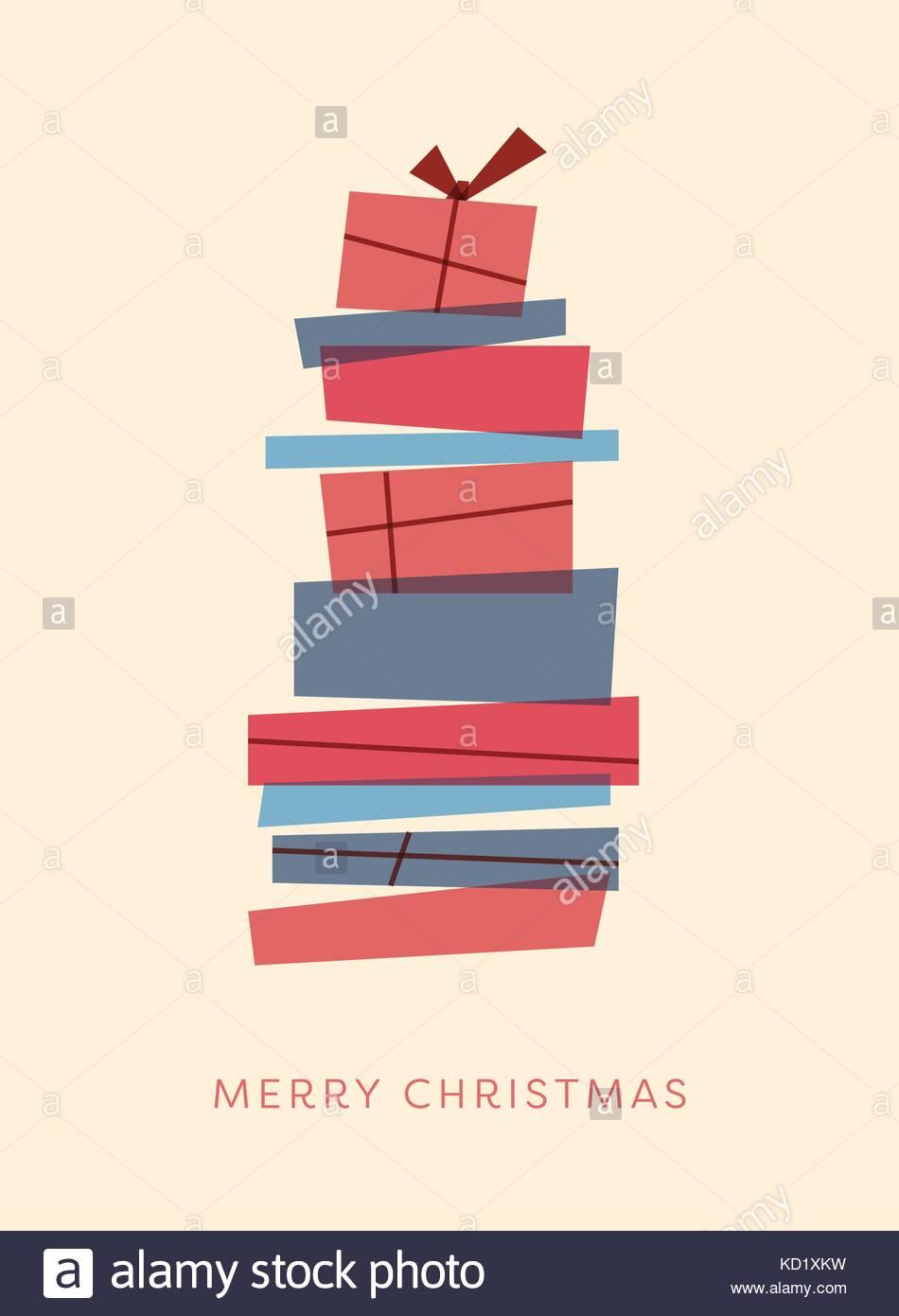 merry christmas card template with retro vintage overlay christmas