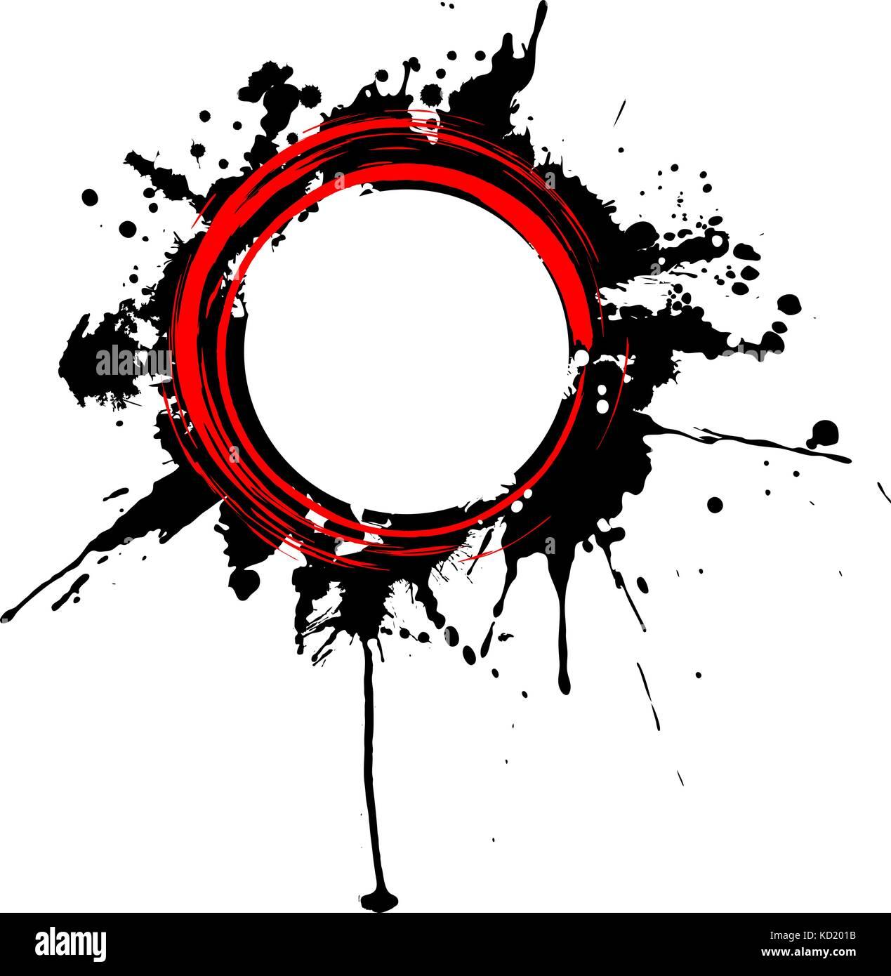 circular grunge banner stock vector art illustration vector image