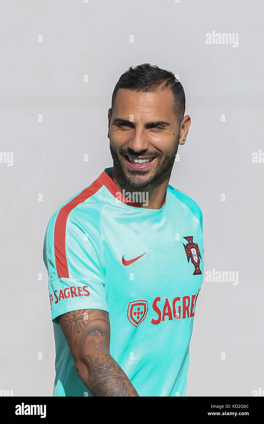 Portugal s forward Ricardo Quaresma during National Team Training session  before the match between Portugal and Switzerland at City Football in  Oeiras on ... b53bf2be558cd