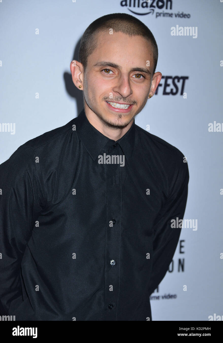 Los Angeles, USA. 09th Oct, 2017. Moises Arias 040 ...