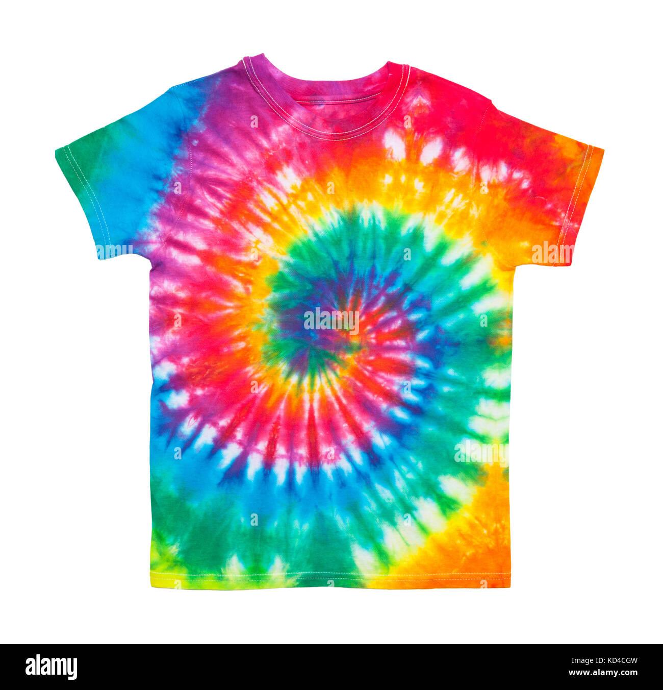 Tie Dye Shirt Patterns Spiral Summer Cook