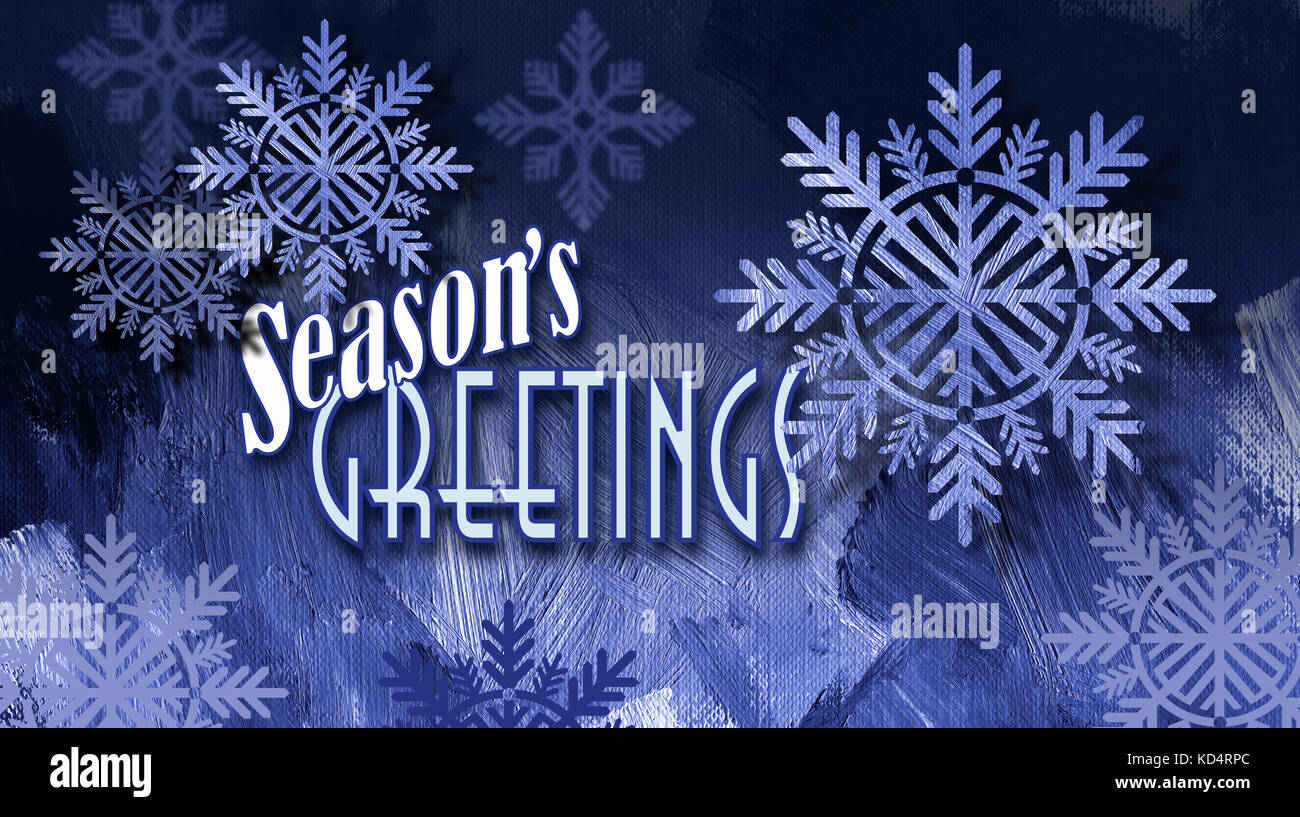 Christmas xmas card seasons greetings stock photos christmas graphic composition of christmas snowflake ornaments on textured background with seasons greetings message stock image kristyandbryce Gallery