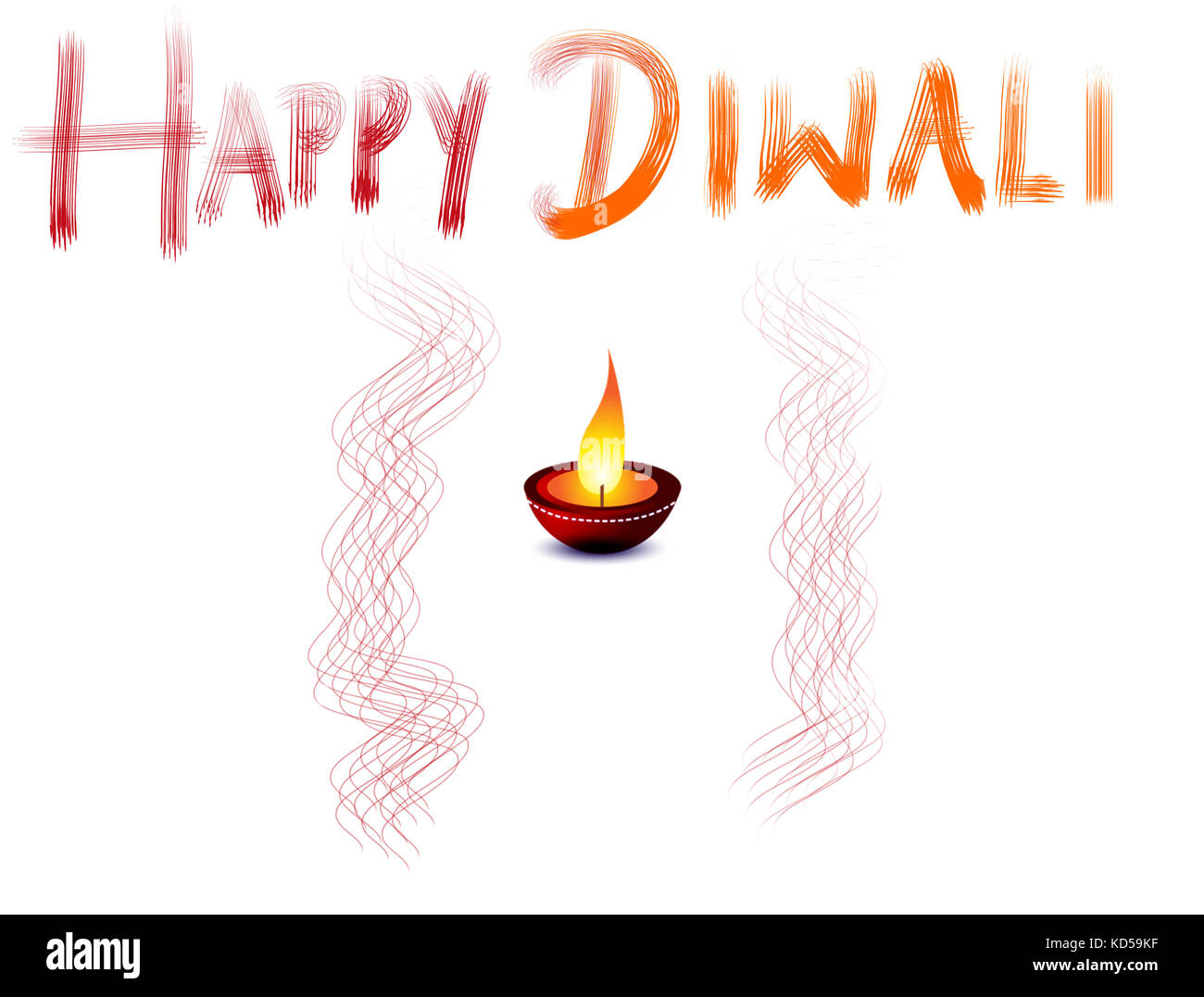 Diwali Greetings Cut Out Stock Images Pictures Alamy