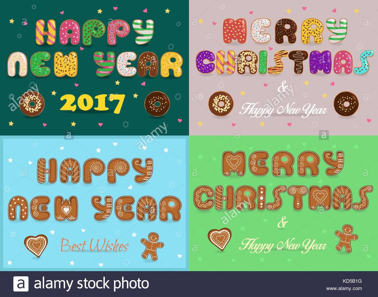 Greeting christmas and new year cards artistic fonts texts merry greeting christmas and new year cards artistic fonts texts merry christmas happy new year best wishes cookies and donuts kristyandbryce Image collections