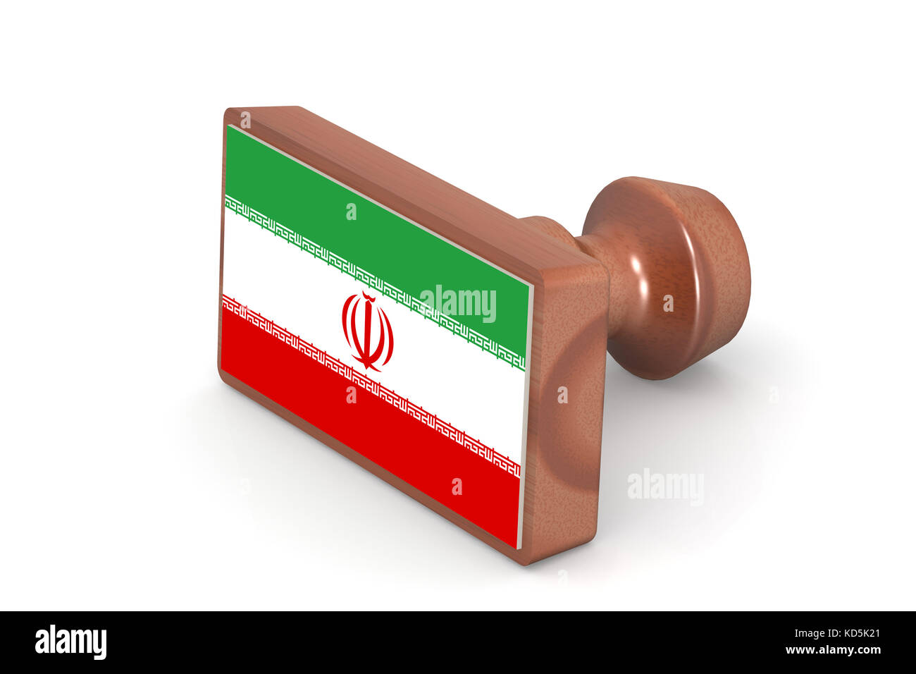 Official flag of iran stock photos official flag of iran stock wooden stamp with iran flag image with hi res rendered artwork that could be used buycottarizona Choice Image
