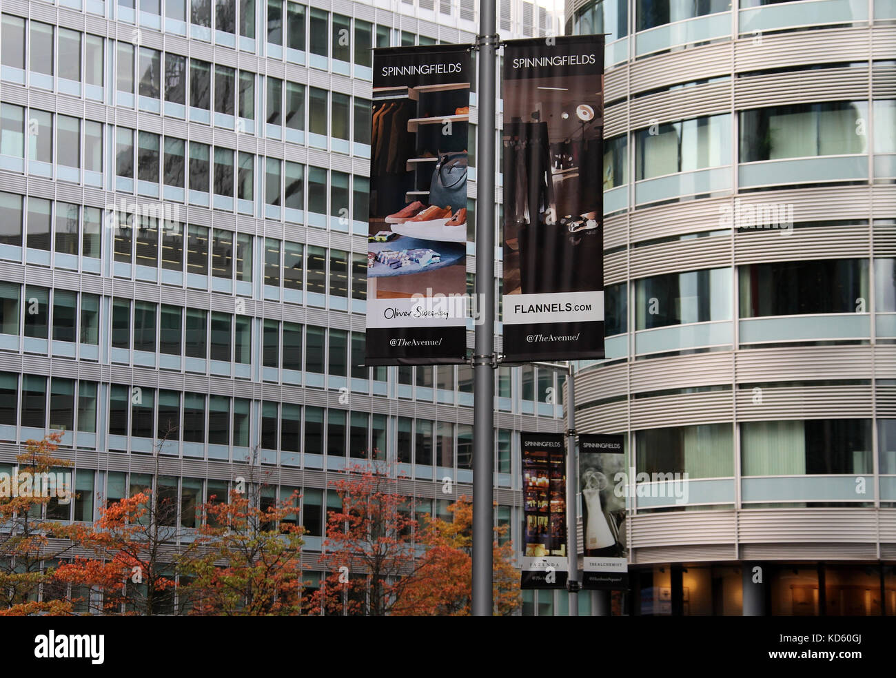Central Business District Manchester Stock Photos ...