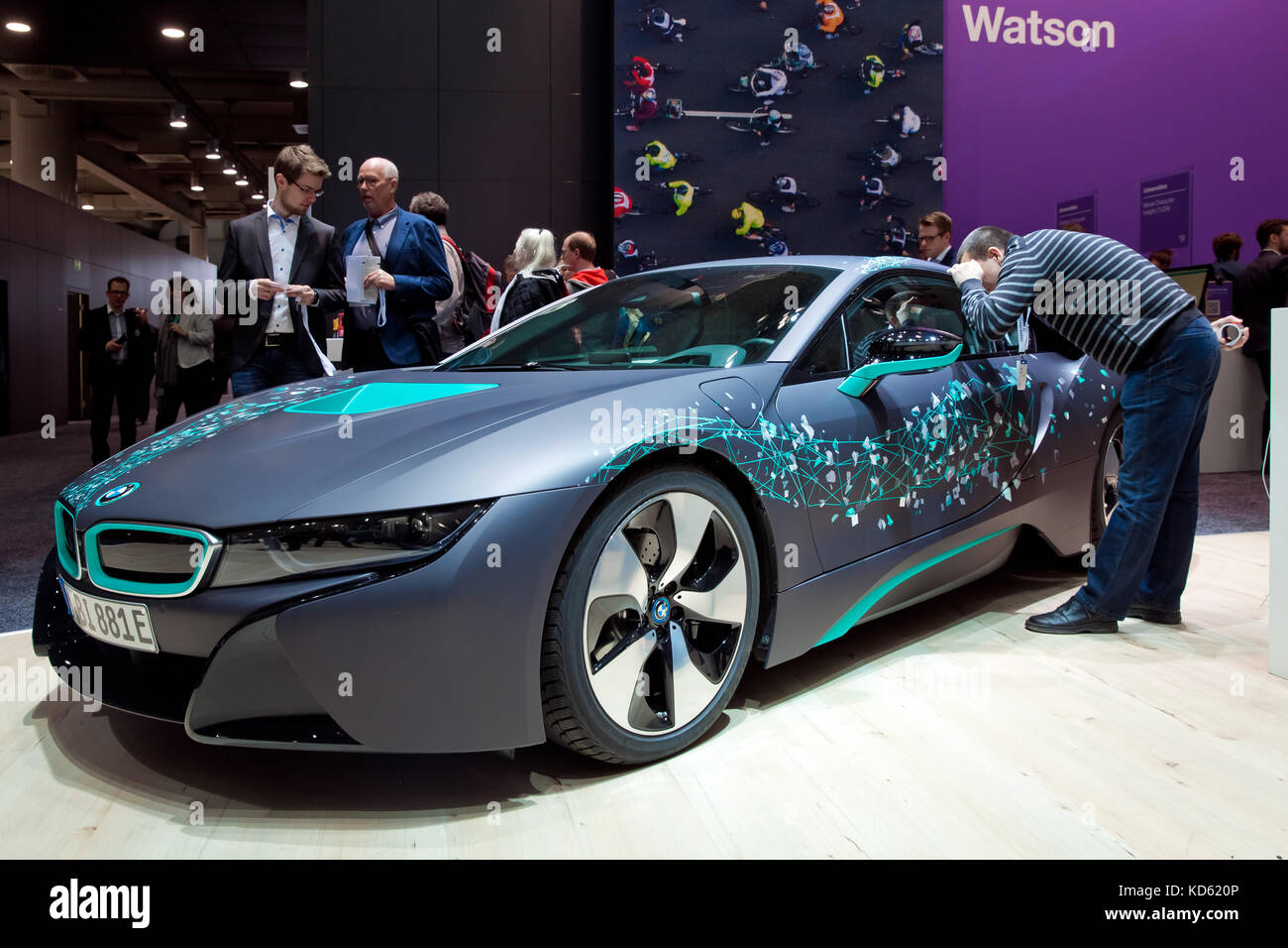 Self Driving Bmw I8 Roadster And Virtual Reality Microsoft Hololens