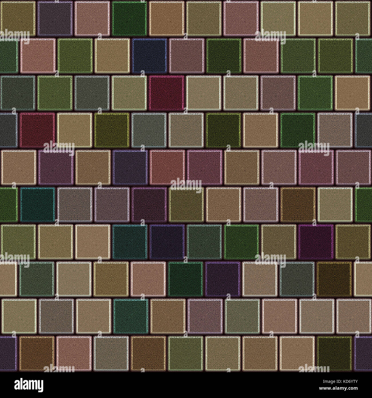 Colorful tile floor with earth colors Stock Photo, Royalty Free ...