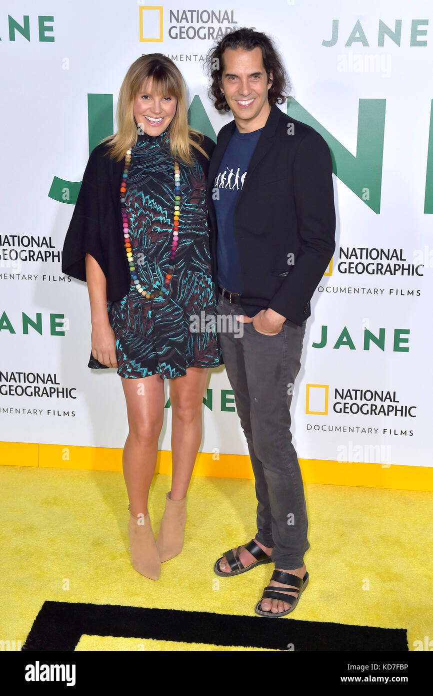 Grace Potter And Eric Valentine Attend The Premiere Of National Geographic  Documentary Films U0027Janeu0027 At The Hollywood Bowl On October 9, 2017 In  Hollywood, ...