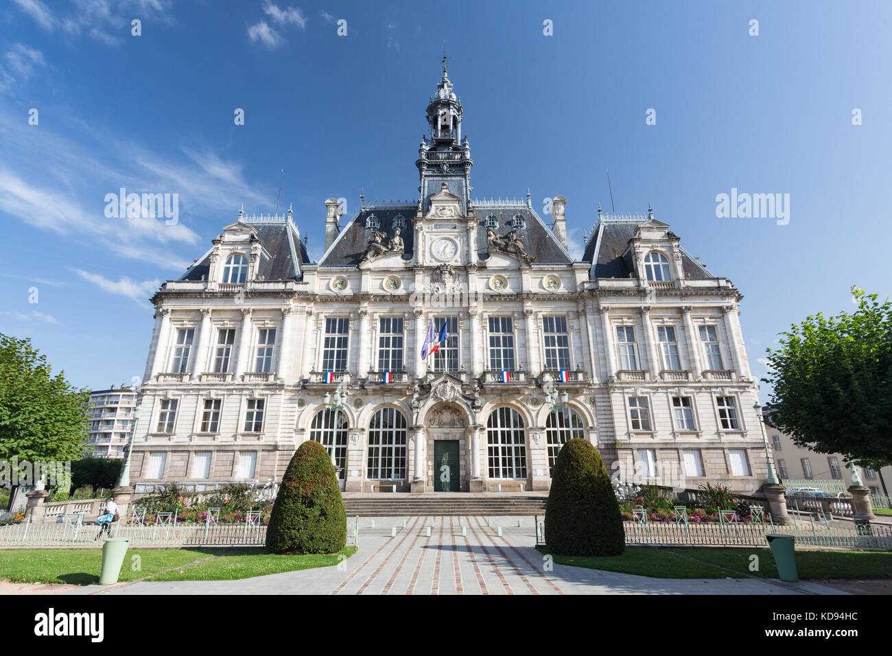 French Renaissance Architecture Stock Photos