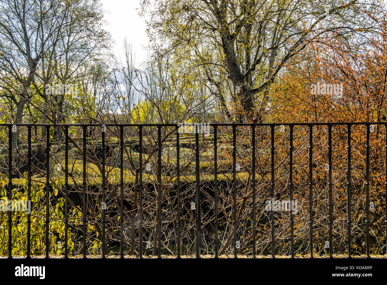 Rusty Metal Fence Stock Photos Rusty Metal Fence Stock