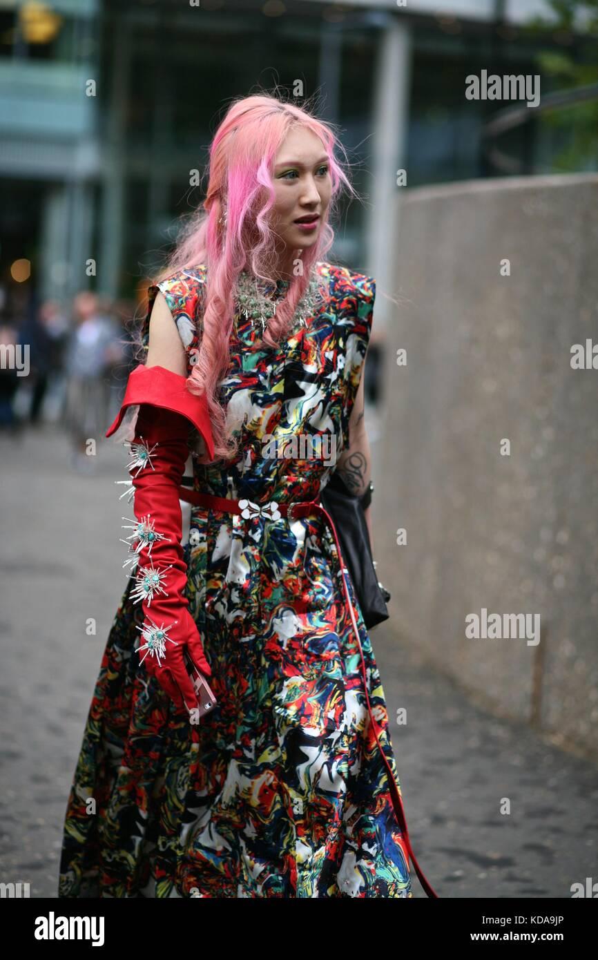 London Fashion Week Spring 2018 Stock Photos London