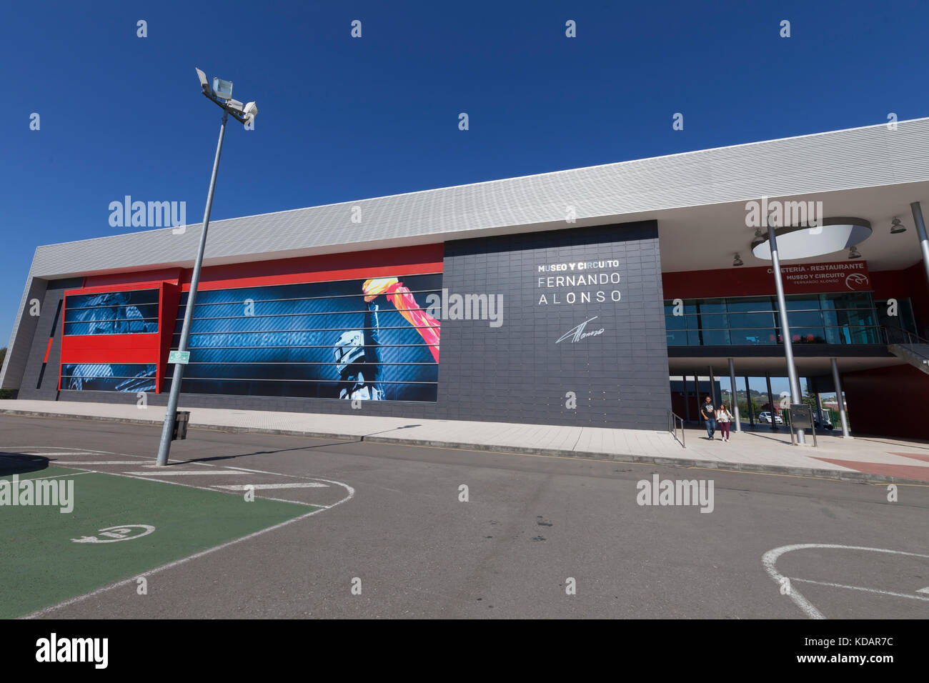 Circuito Karting : Fernando alonso karting circuit and museum in spain. photograph