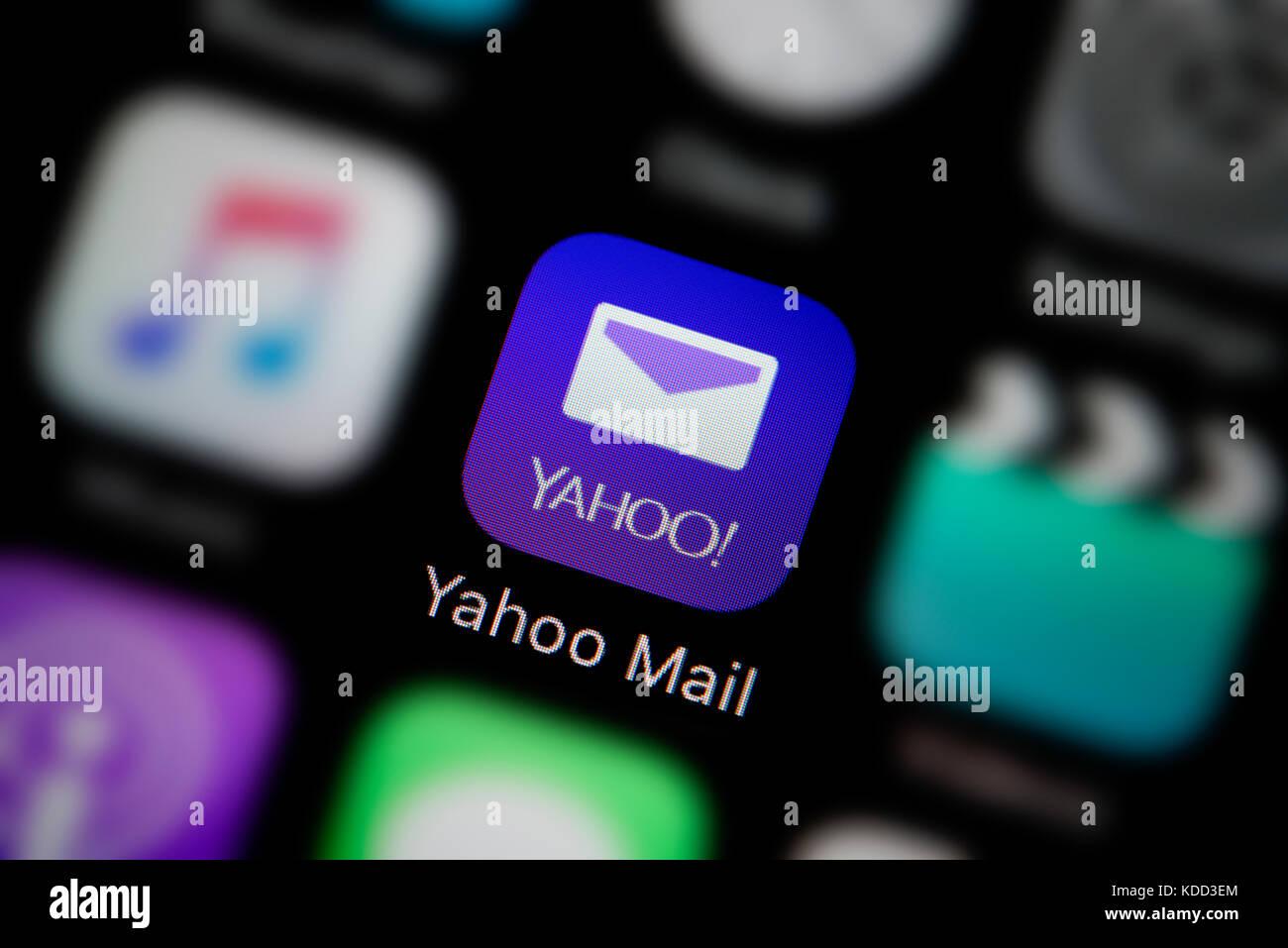 Hyundai motor company yahoo finance - A Close Up Shot Of The Logo Representing The Yahoo Mail App Icon As