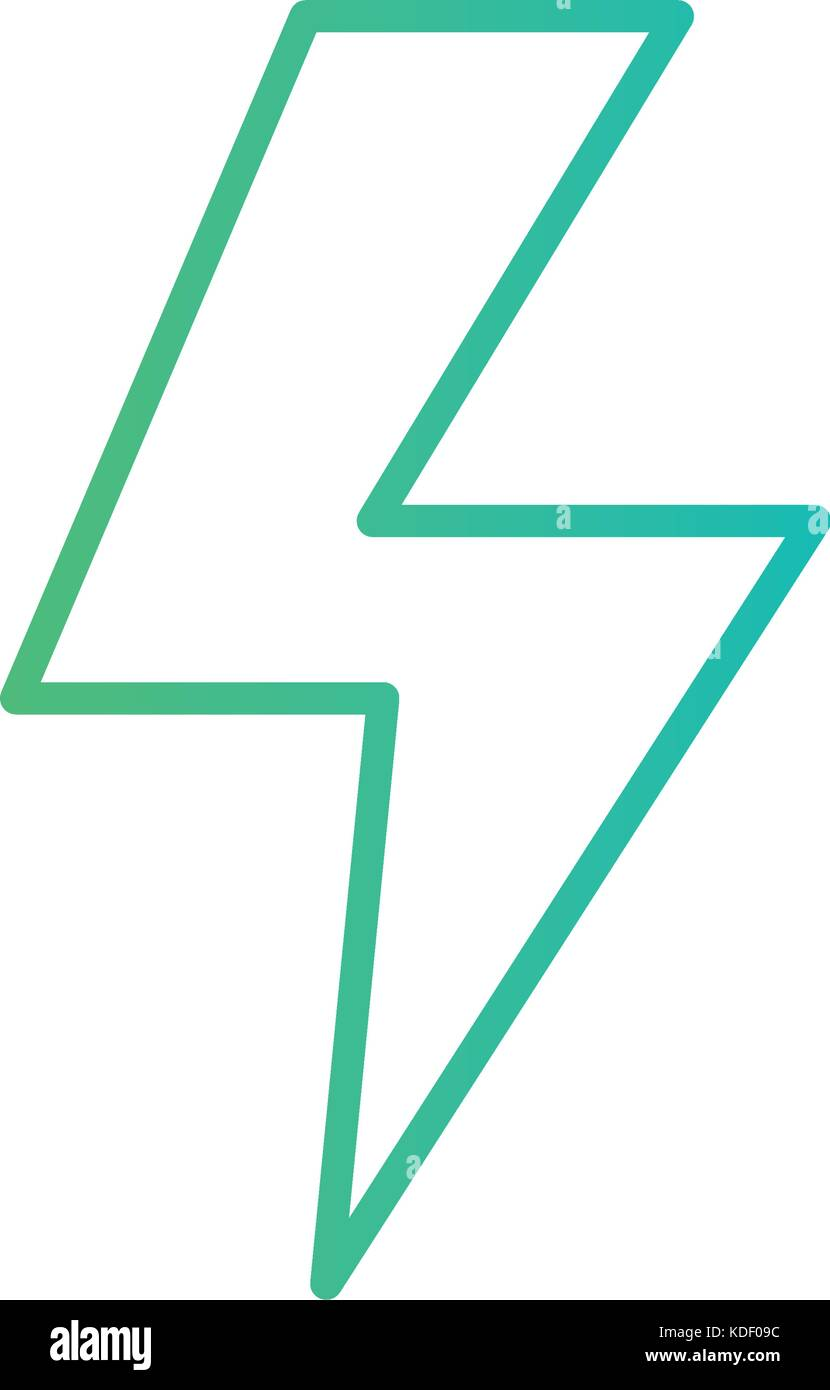 Line Energy Hazard Symbol Power Electric Vector Illustration Stock Circuit Schematic Symbols