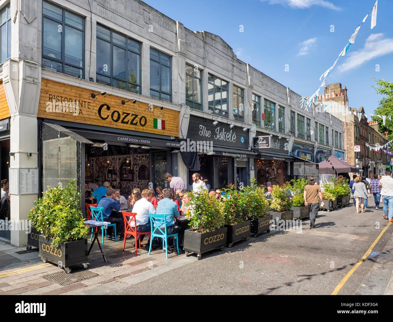 Whitecross Street Restaurants