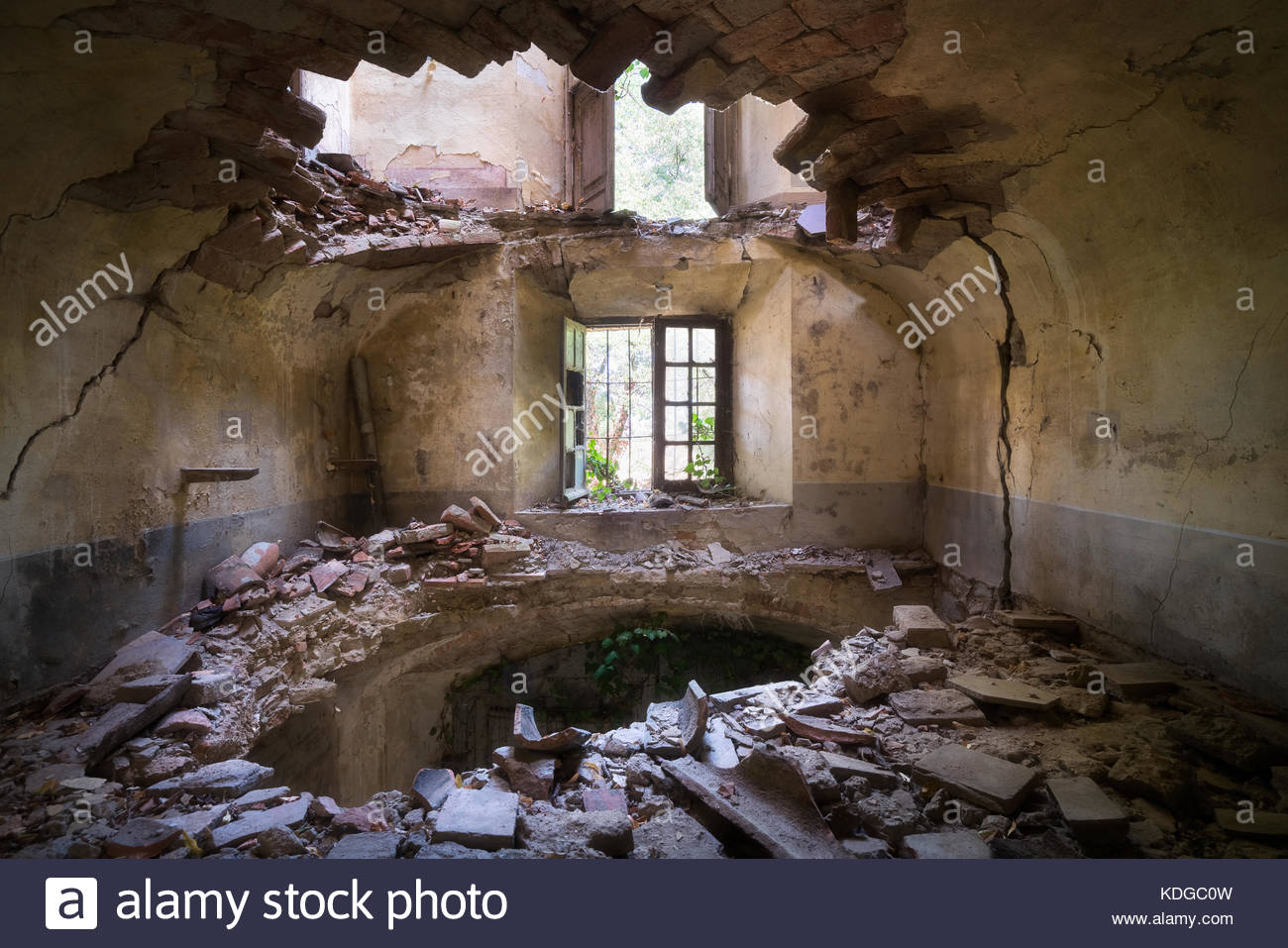 Old Castle In Decay Abandoned Stock Photos Old Castle In
