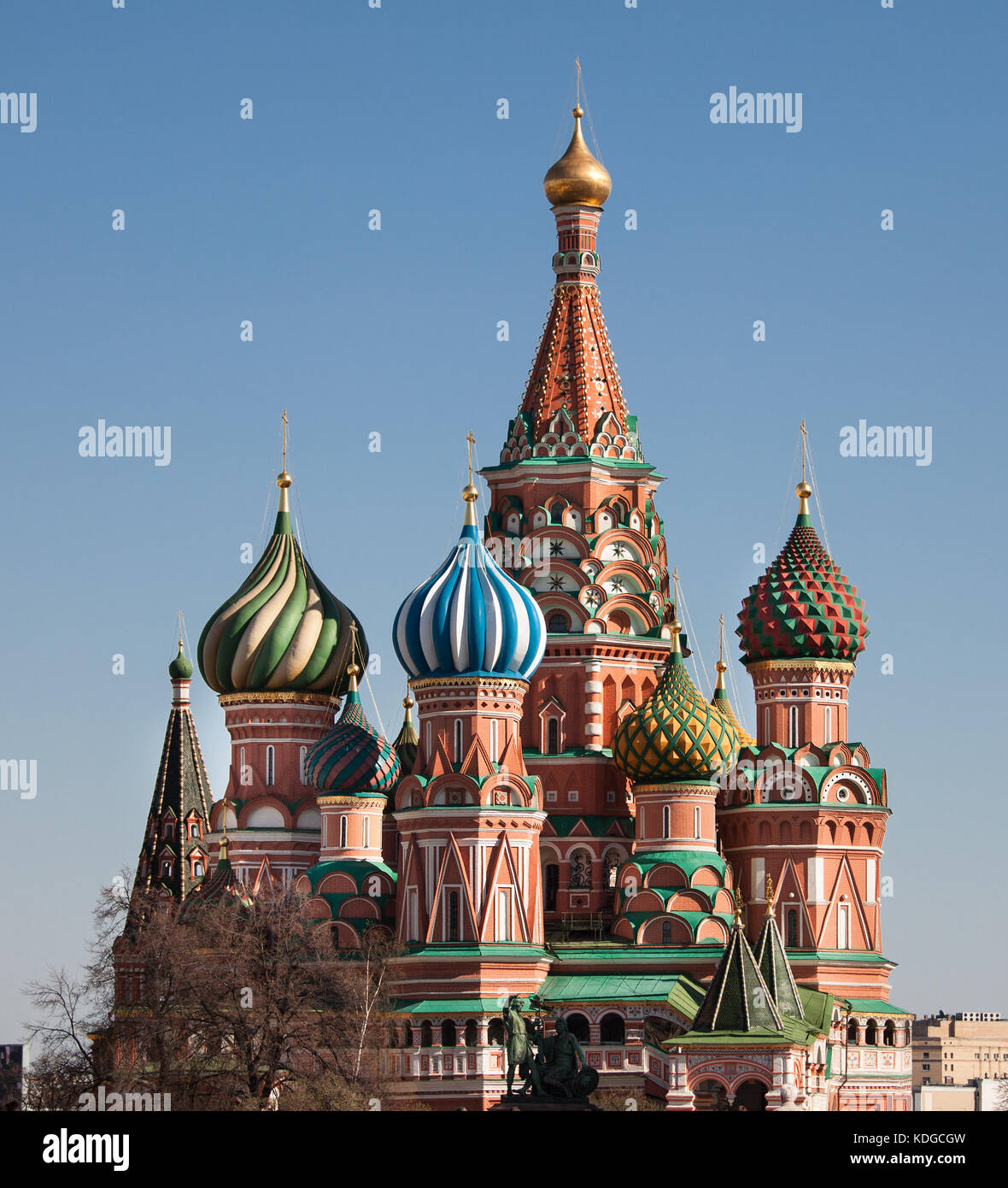 St Basils Cathedral In Moscow Stock Photos \u0026 St Basils Cathedral ...